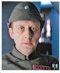 Ken Colley Admiral Piett STAR WARS genuine signed autograph 10x8  COA  11469